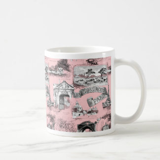 Les Environs de Paris ~ Dauphine Pink Coffee Mug