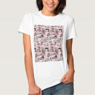 Les Environs de Paris ~ Dauphine Pink T-Shirt