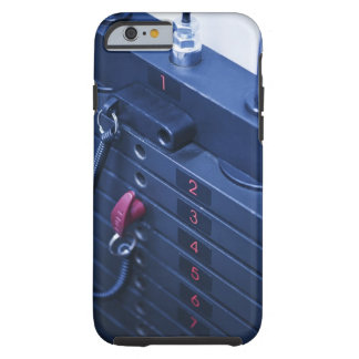 Les Etats-Unis, New Jersey, Jersey City, poids des Tough iPhone 6 Case