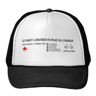 Les exploits du Parti conservateur Trucker Hat