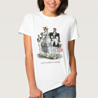 Les Fashionables by Philipon - Design on Front T-Shirt