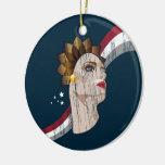 ¡Les Femmes de Vive! (Diseño adaptable!) Ornamento De Reyes Magos