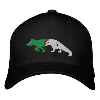 Les Fennec Algeria 2014 flag embroidered cap