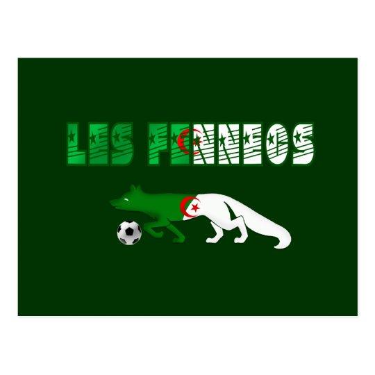 Les Fennecs Desert Foxes Algeria soccer gifts Postcard
