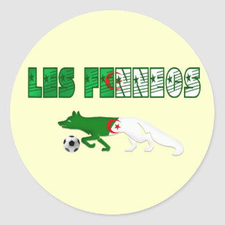 Les Fennecs Desert Foxes Algeria soccer gifts Stickers