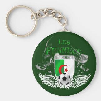 Les Fennecs flag of Algeria Algerie Keychain