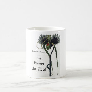 Les Fleur du Mal - Baudelaire Coffee Mug