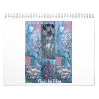 Les Fleurs Calendar