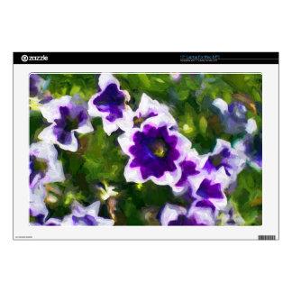 les fleurs decal for laptop