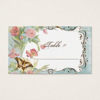 Les Fleurs Peony Rose Tulip Floral Flowers Wedding Business Card