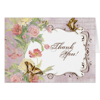 Les Fleurs Peony Rose Tulip Floral Flowers Wedding Stationery Note Card