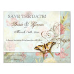 Les Fleurs Peony Rose Tulip Floral Flowers Wedding Custom Invitation