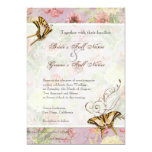 Les Fleurs Peony Rose Tulip Floral Flowers Wedding Personalized Invitation