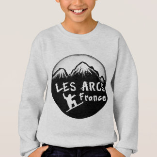 Les forma arcos esquiador artístico de Francia Sudadera