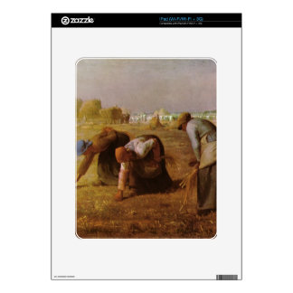 Les Glaneuses 1857 by Jean-Francois Millet iPad Decals