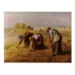 Les Glaneuses 1857 por el mijo de Jean-Francois Postales