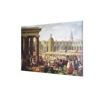 Les Halles, Paris Canvas Print