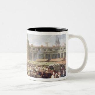 Les Halles, Paris Two-Tone Coffee Mug