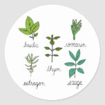Les herbes stickers
