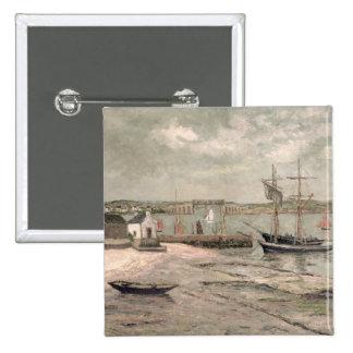 Les Huitrieres, La Trinite-Sur-Mer, Morbihan, 1912 Button
