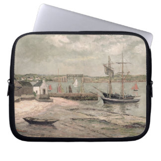 Les Huitrieres, La Trinite-Sur-Mer, Morbihan, 1912 Laptop Sleeve