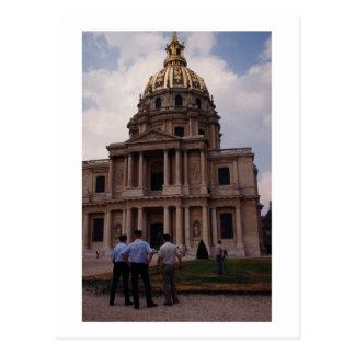 Les Invalides, France Postcard