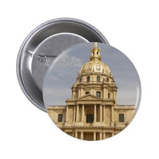 Les Invalides in Paris Button