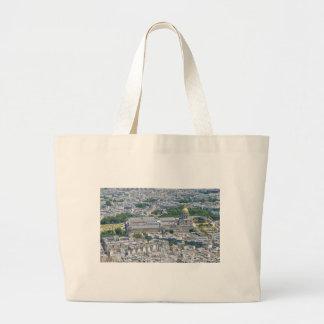 Les Invalides in Paris, France Large Tote Bag