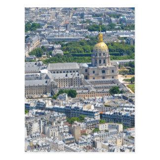 Les Invalides in Paris, France Postcard