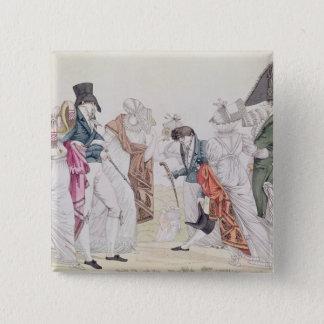 Les Invisibles', c.1807 Button