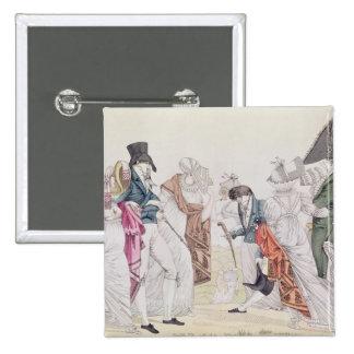 Les Invisibles', c.1807 Pinback Buttons