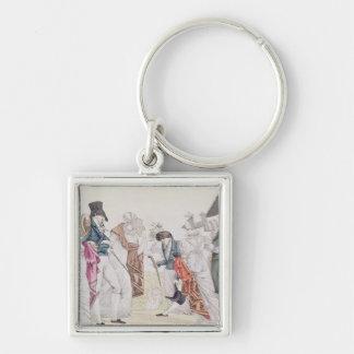 Les Invisibles', c.1807 Key Chains