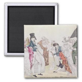 Les Invisibles', c.1807 Magnet