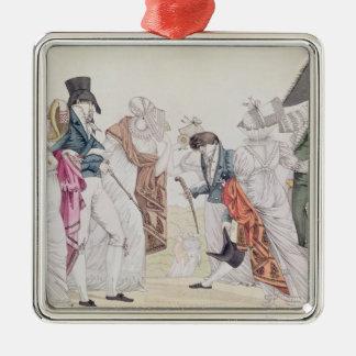 Les Invisibles', c.1807 Metal Ornament