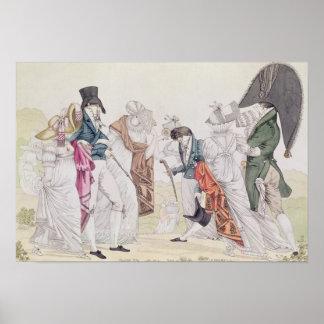 Les Invisibles', c.1807 Poster