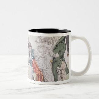 Les Invisibles', c.1807 Two-Tone Coffee Mug