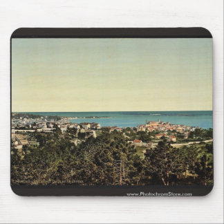 Les Isles de Lerins, Cannes, Riviera vintage Photo Mousepad