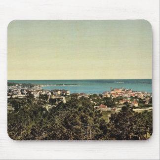 Les Isles de Lerins, Cannes, Riviera vintage Photo Mouse Pads