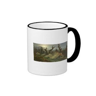 Les Lavandieres de la Nuit  c.1861 Ringer Coffee Mug