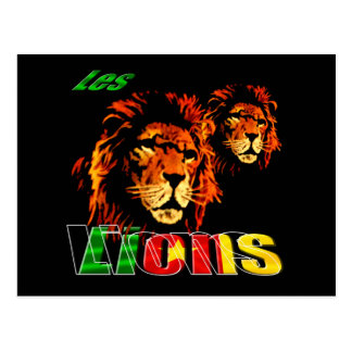 Les Lions Cameroun 2010 Cameroonian gifts Postcard
