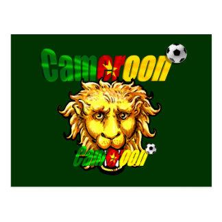 Les Lions Indomables Cameroun 2010 Postcard