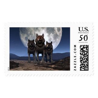 Les Loups Postage
