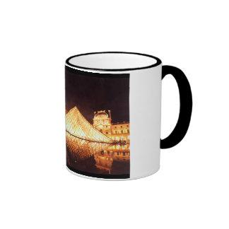 Les Lumieres du Louvre Watercolor Art Coffee Mug