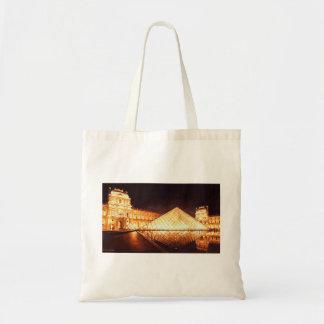 """""""Les Lumieres du Louvre"""" Watercolor Art Tote Bag"""