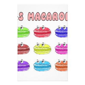 Les Macarons Cute Cartoon Stationery