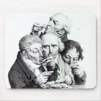 Les Mangeurs d'Huitres, 1825 Mouse Pad