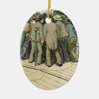 Les Marionnettes de la Vie 1890 - L'Article 330 Ceramic Ornament