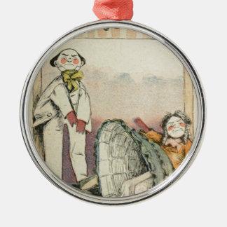 Les Marionnettes de la Vie 1890 - Le Boulingrin Metal Ornament