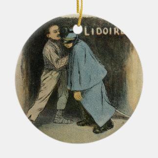 Les Marionnettes de la Vie 1890 - Lidoire Ceramic Ornament