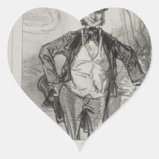 Les maris me font toujours rire: Je suis le mari Heart Sticker